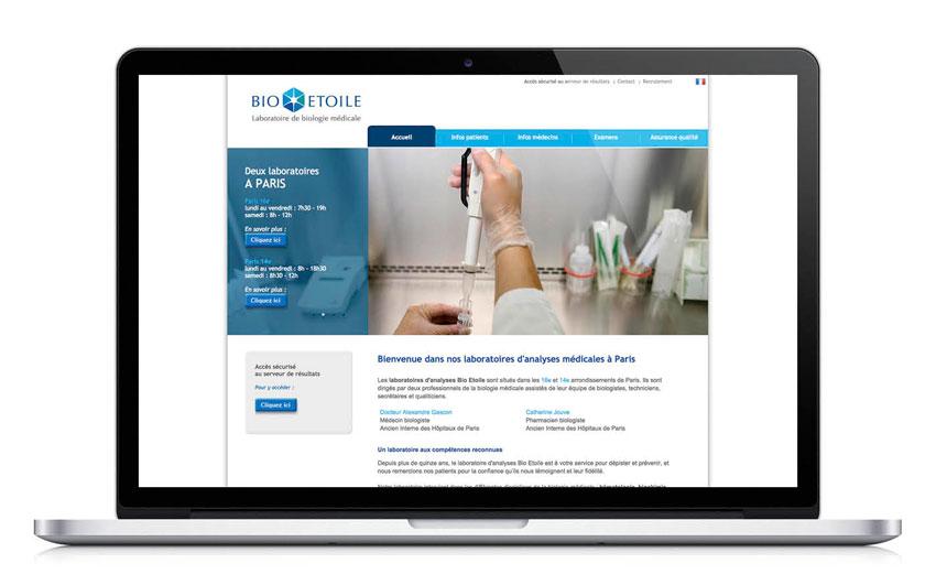 Bio Etoile website
