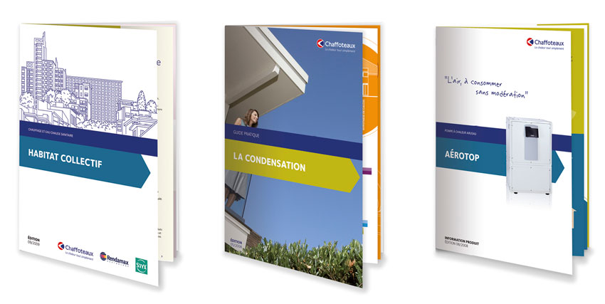 Chaffoteaux brochures cover