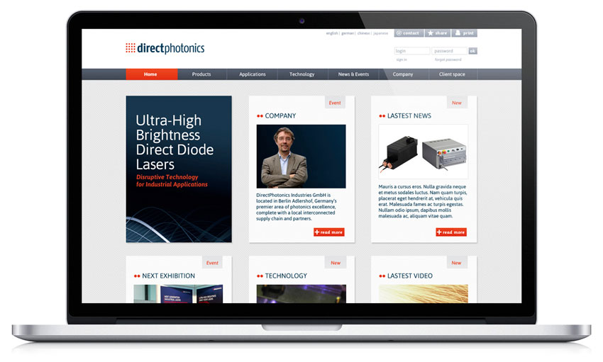 DirectPhotonics website