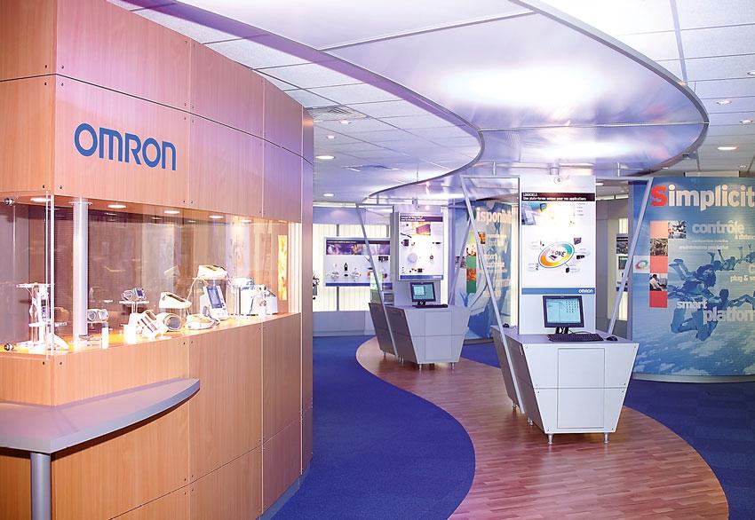Omron stand