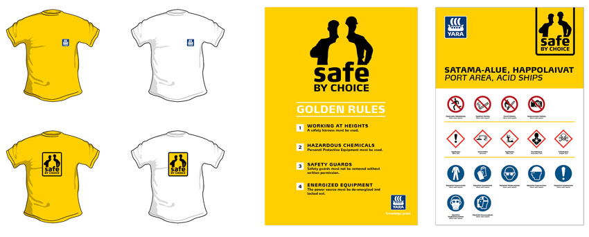 Safe by choice Tshirt signaletique