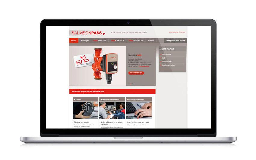 Salmsonpass website
