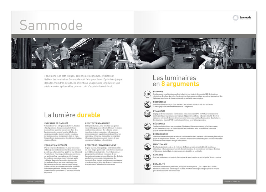 Sammode brochure