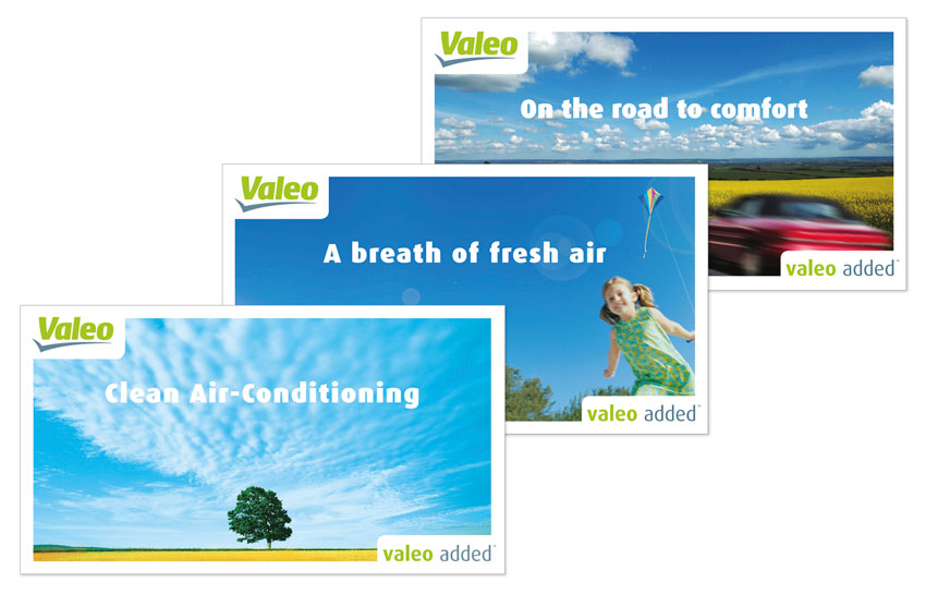Valeo added ad