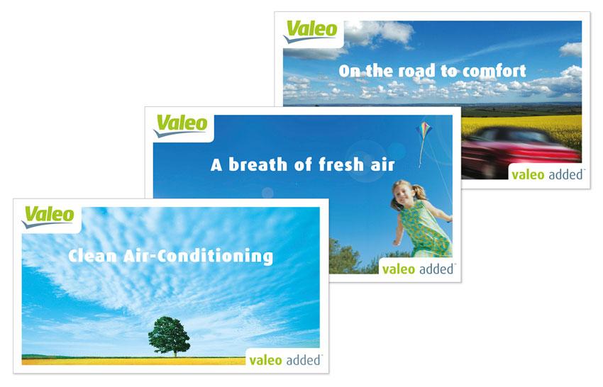 Valeo added ad