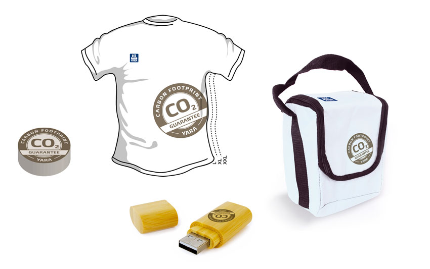 Yara Carbon footprint goodies