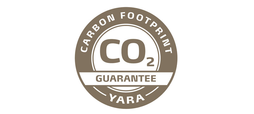 Yara Carbon footprint label
