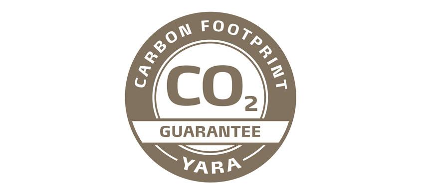 Yara Carbon footprint label