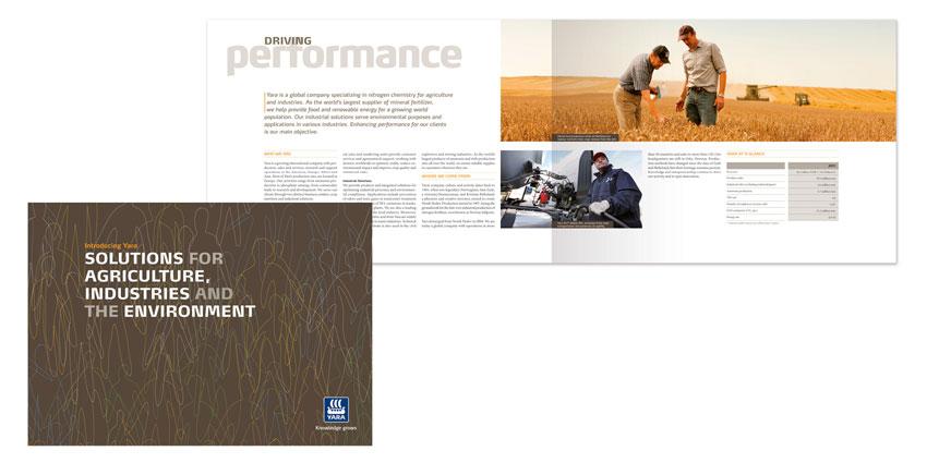 Yara brand brochure