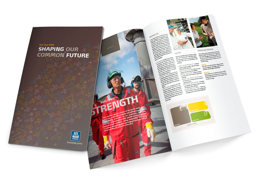Yara brand brochure shaping our future