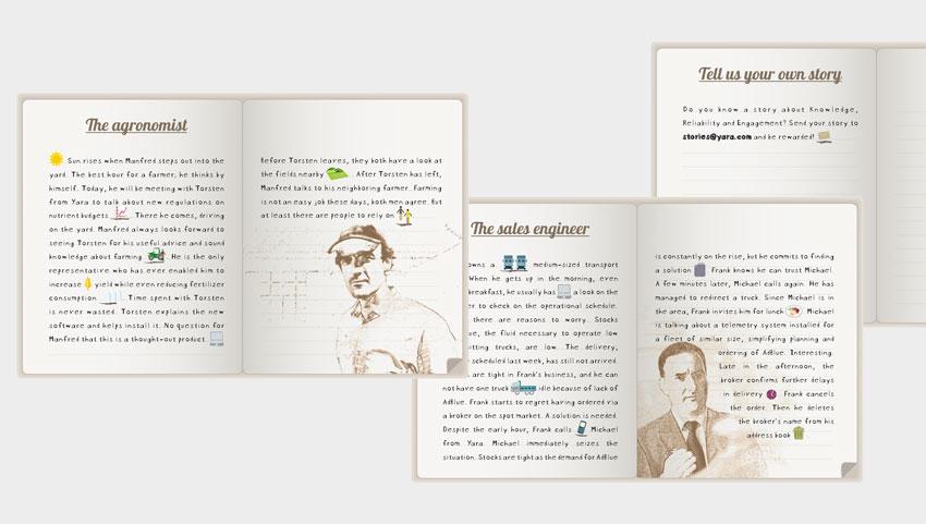 Yara brandbook detail
