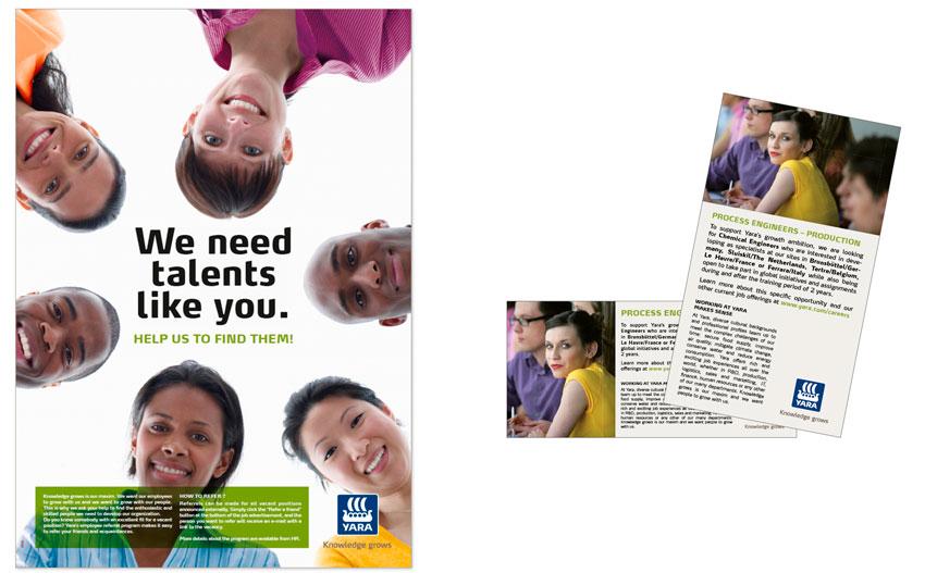employee branding press ad