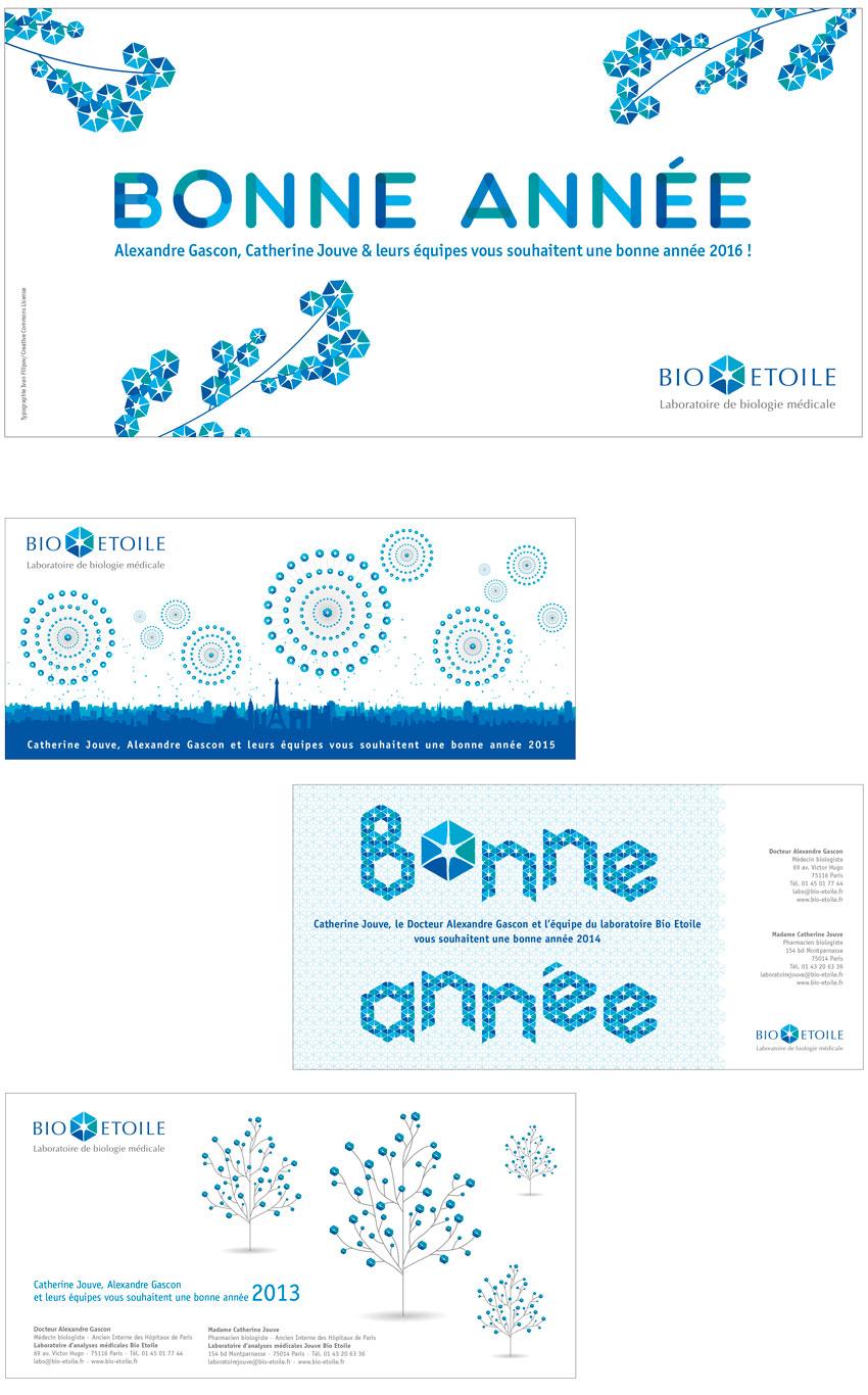 Bio Etoile cartes de vœux