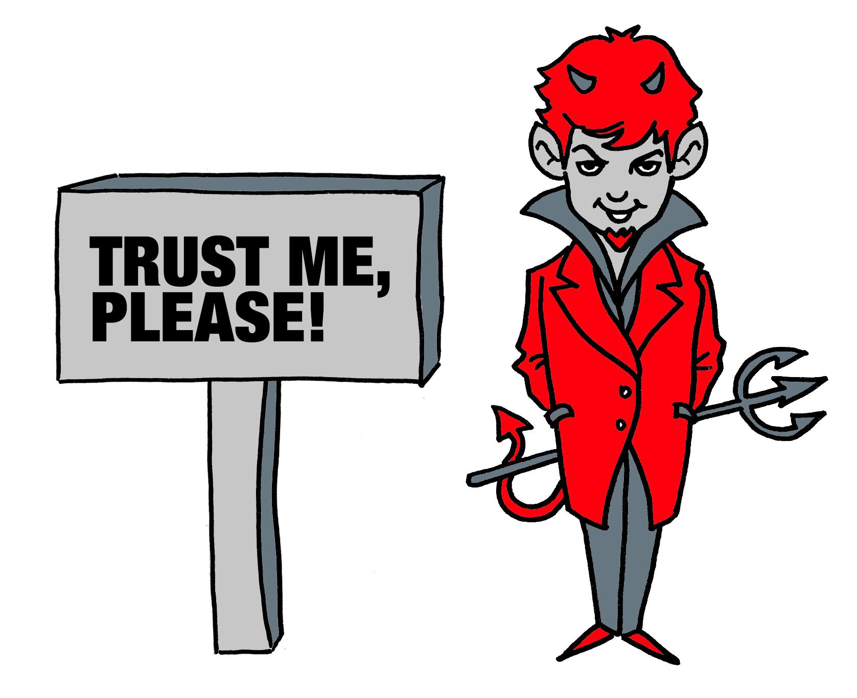 trust me please