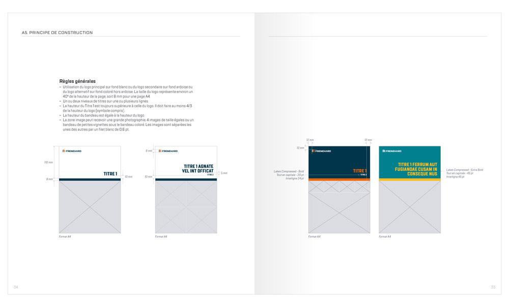 charte graphique - marque Frenehard