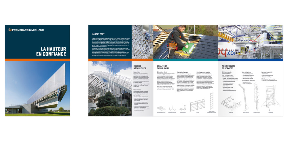 brochure - marque Frenehard