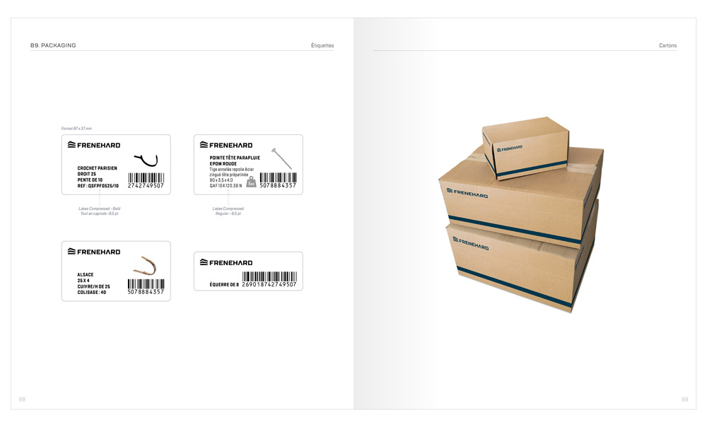 packaging - marque Frenehard
