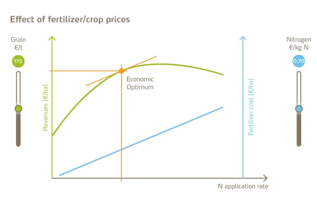 Effect of fertilizer Yara