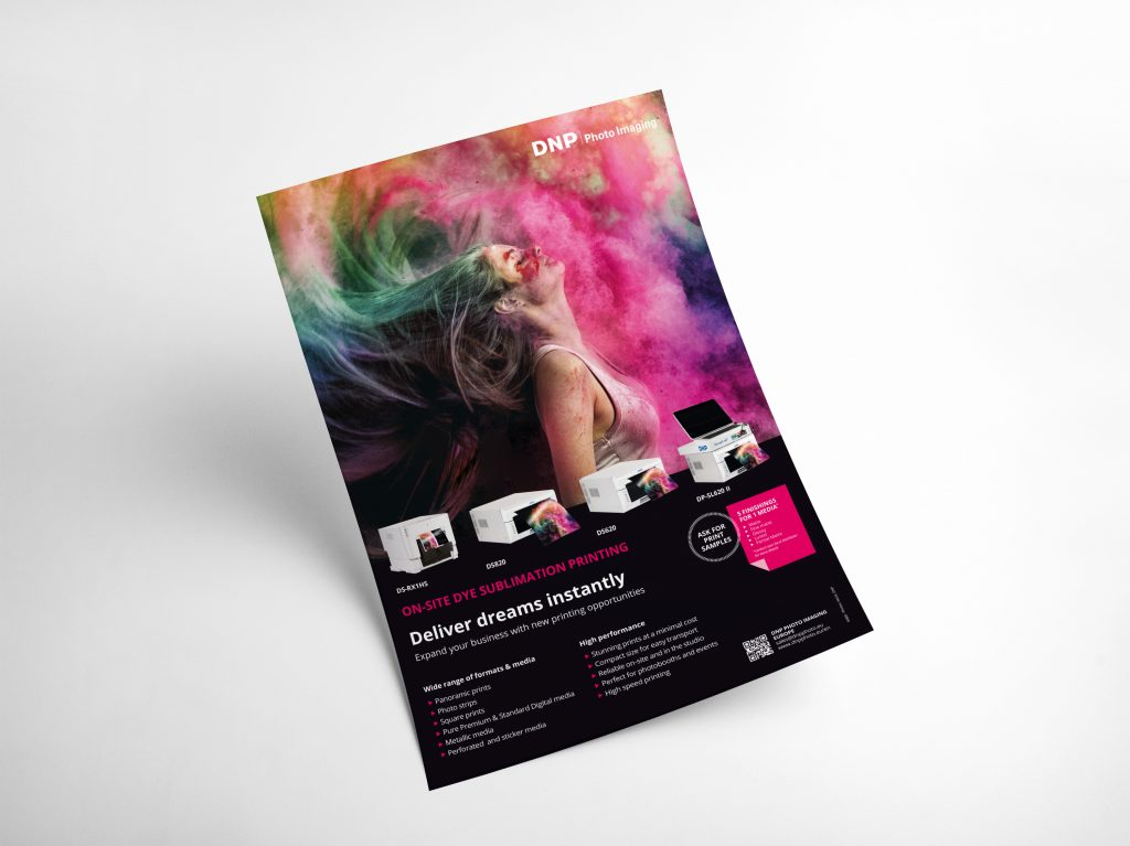 "Annonce presse DNP ""On-site dye sublimation printing"""