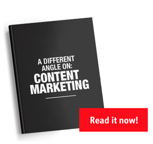 A different angle on content marketing