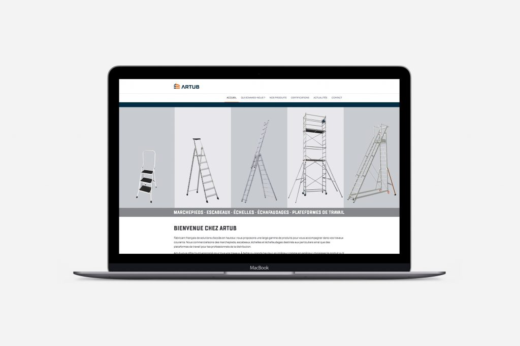 Site web Artub