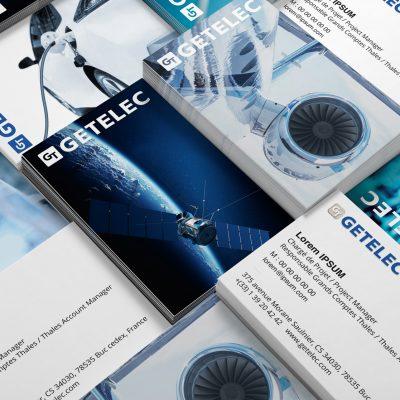 Cartes de visite Getelec