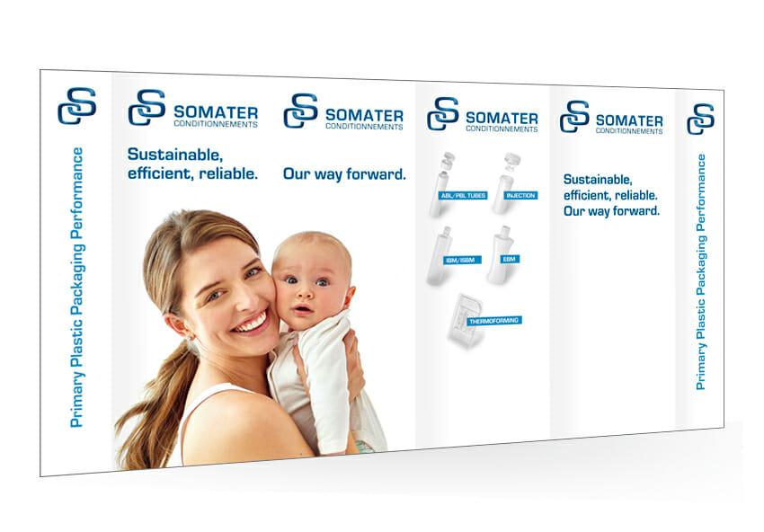 Stand Pharmapack 2020 Somater
