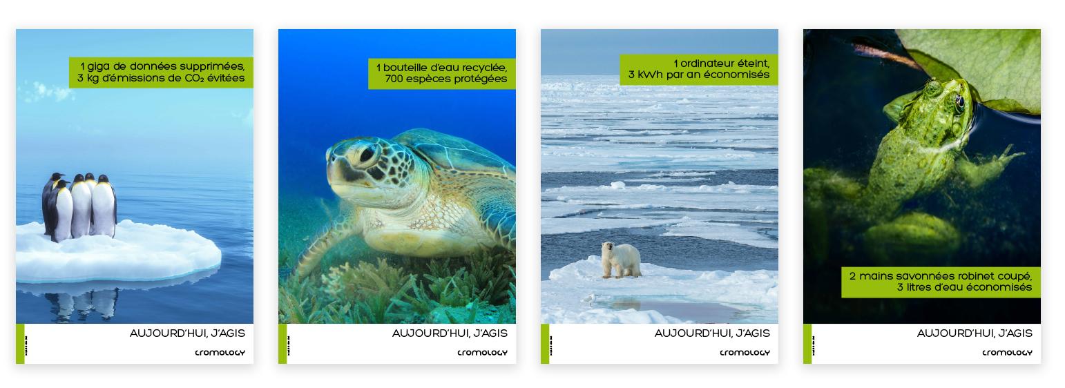Die neue Kampagne betont die Verantwortung für die Umwelt und zielt darauf ab