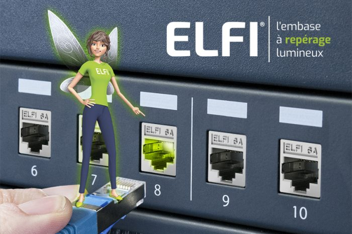 ELFI, l'embase à repérage lumineux Uniformatic