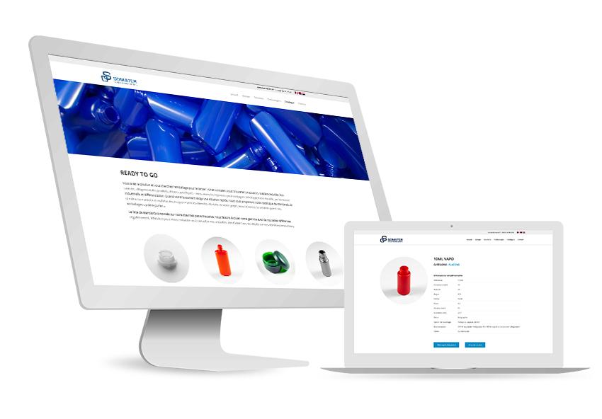 Online-Katalog für SOMATER