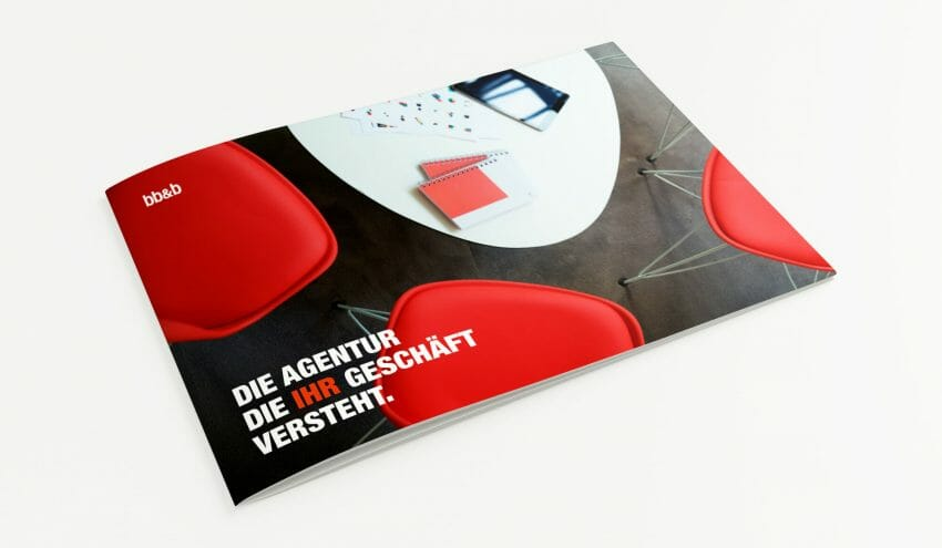 Couverture brochure agence bb&b
