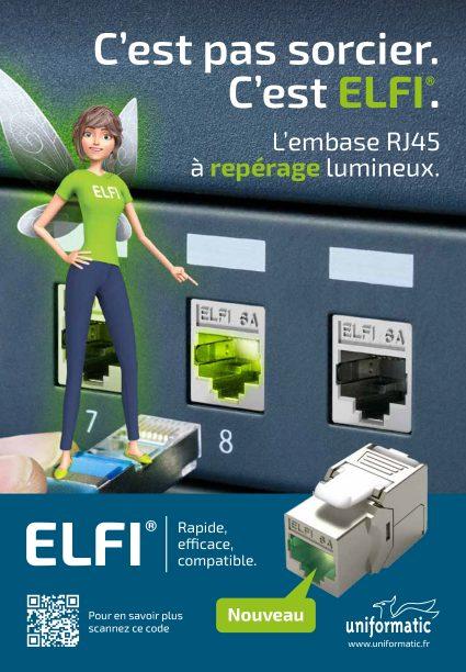 Embase ELFI® à repérage lumineux Uniformatic